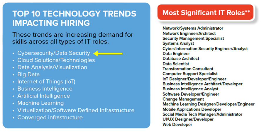 Most Significant IT Roles