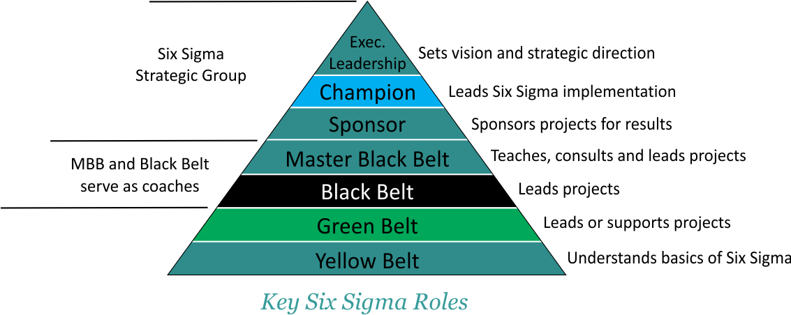 Best Six Sigma Black Belt Training Program in New Delhi, India makes the implementation & Corporate Deployment easy for all leaders, managers, champions, project teams