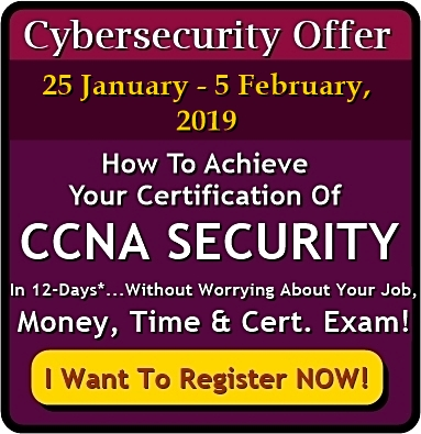 Cybersecurity Offer 2019 CCNA Security