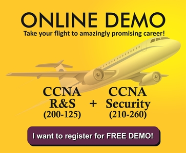 FREE DEMO of CCNA - R&S and Security